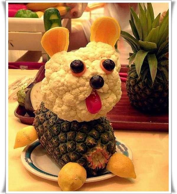 Veggie-and-Fruit-Puppy-Art-housevira