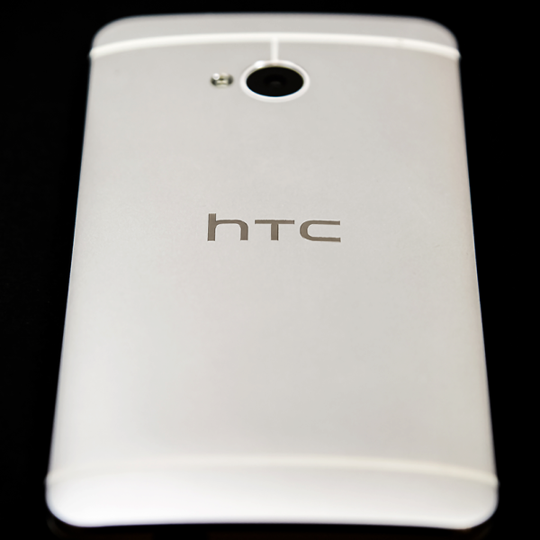 back side of HTC One Smartphone