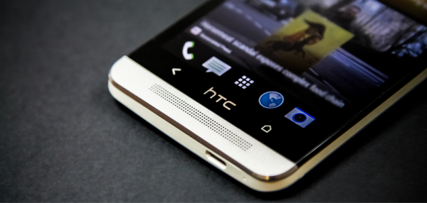 buttons of HTC One Smartphone