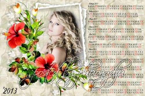 2013 calendar template 09