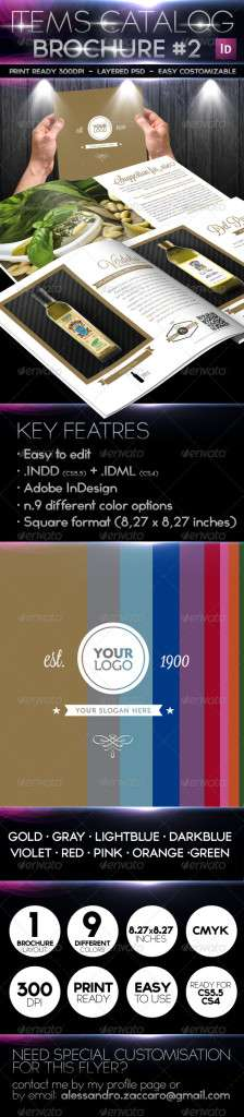 Products / Items Catalog - Retro Minimal Style - GraphicRiver Item for Sale