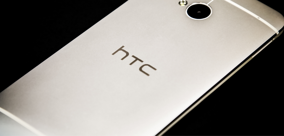 silver HTC One Smartphone