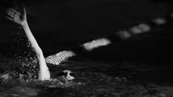 Australian Swimming Photography In Black And White. Photo By Lucas Wroe