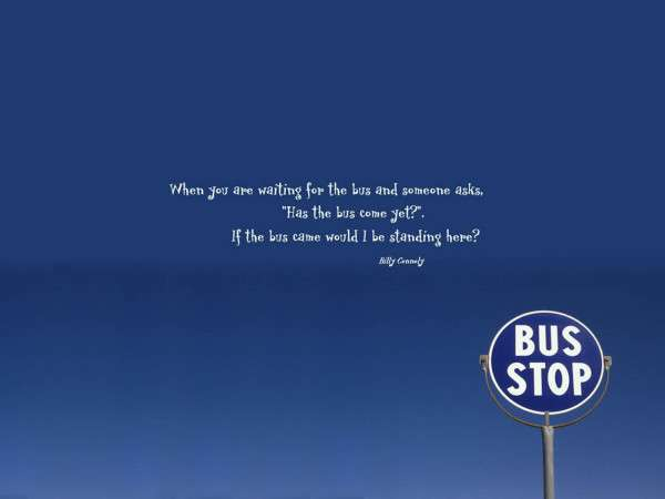 Funny Bus Quote
