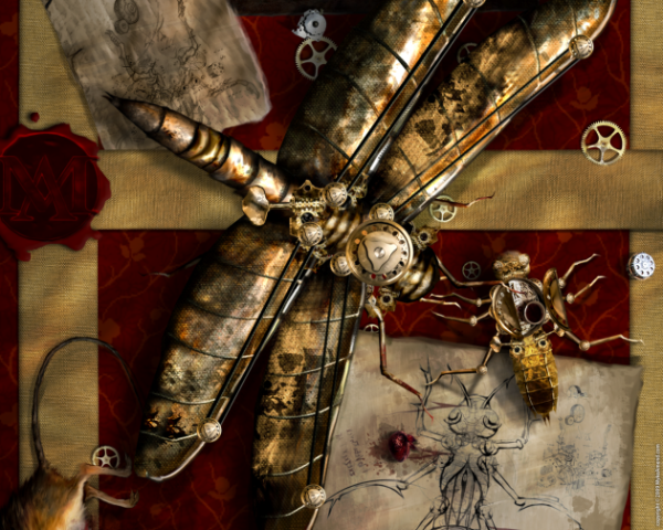 Steampunk Inspired Wallpapers (1)