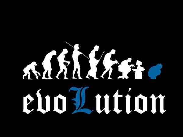 Funny Evolutuon Wallpaper