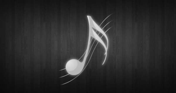 white music notes HD wallpapers
