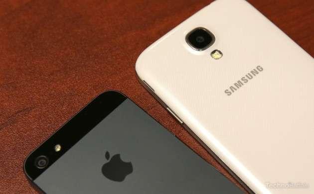 galaxy s4 vs iphone 5 camera comparison image