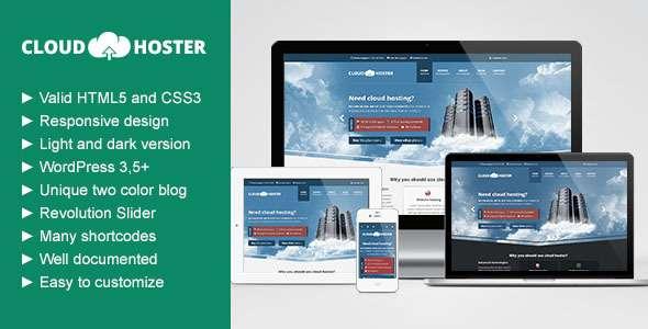 Cloud Hoster - Responsive Modern Hosting Theme - Hosting Technology