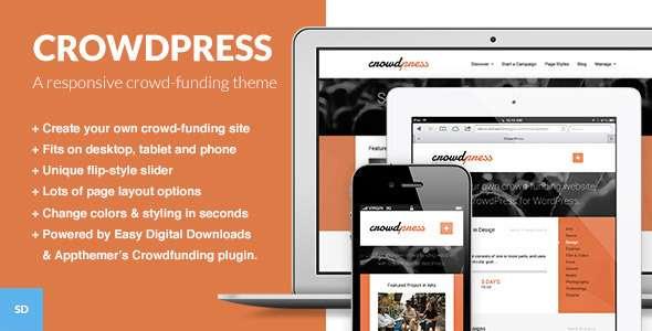 CrowdPress - A Crowdfunding WordPress Theme - Miscellaneous WordPress