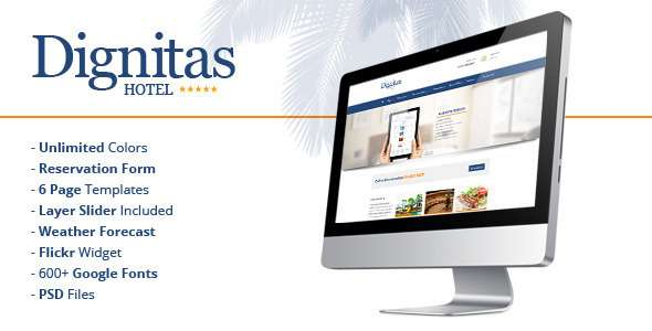 Dignitas - Hotel & Apartment Responsive Theme - Travel Retail