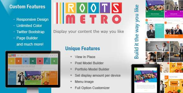 Built it yourself  Responsive Theme - Corporate WordPress