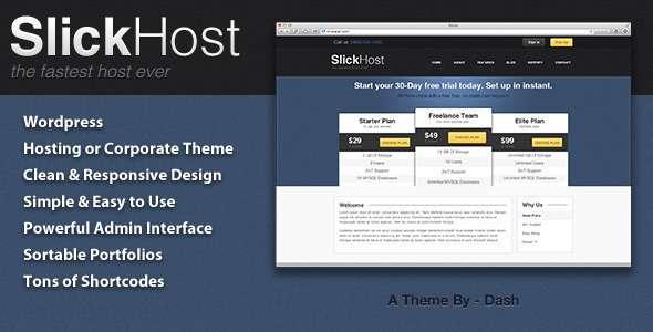 SlickHost - Hosting & Corporate WordPress Theme - Hosting Technology