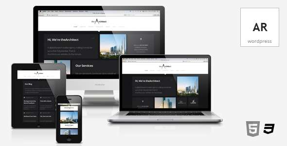 theArchitect – Responsive WordPress Theme - Business Corporate