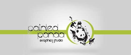 Paint panda logo