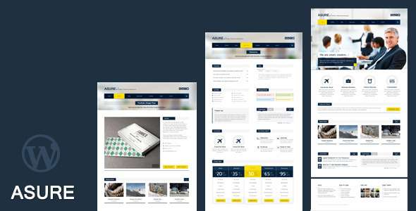 ASURE - Multi Purpose WordPress Theme - Business Corporate