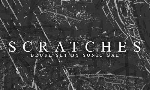 Scratches Brush Set
