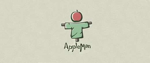 Scarecrow apple logo