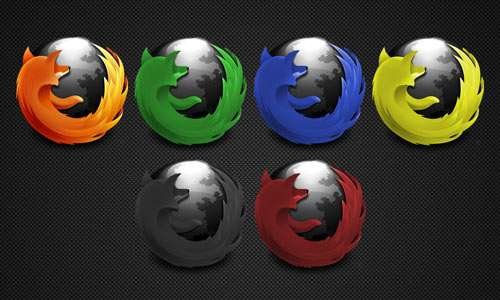 Firefox dark Icons