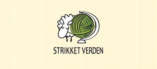 Strikket Verden logo