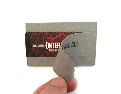 INTER DEC.CO business card