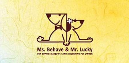 ms. Behave and mr. lucky dog logo