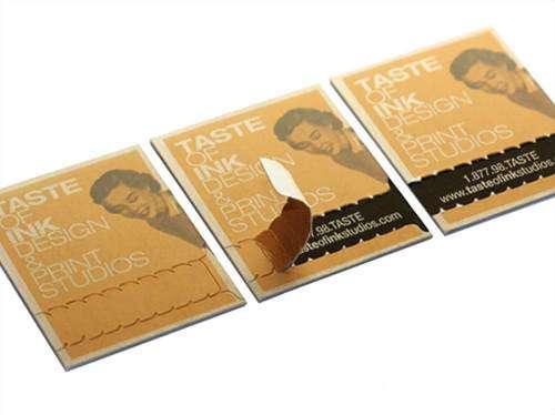 Business Card for: Taste of Ink