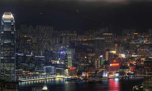 City lights free high resolution skyscraper wallpaper