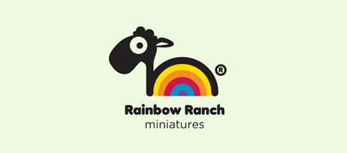 Rainbow Ranch Miniatures logo