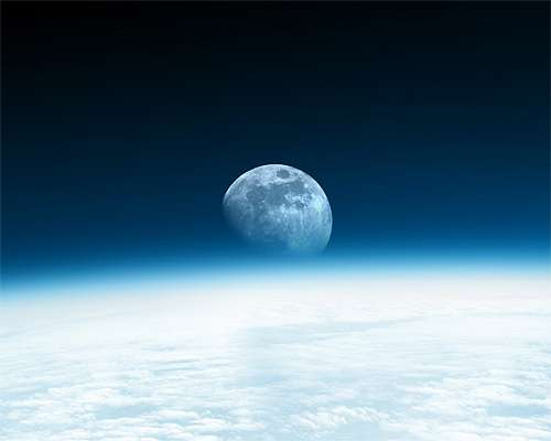 Awesome earth moon wallpaper