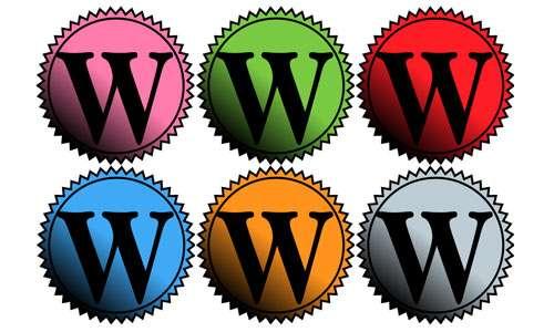 wordpress badge icon