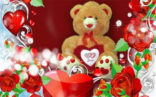 Special Valentine Bear wallpaper