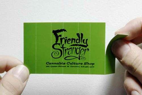 Business Card for: Friendly Stranger