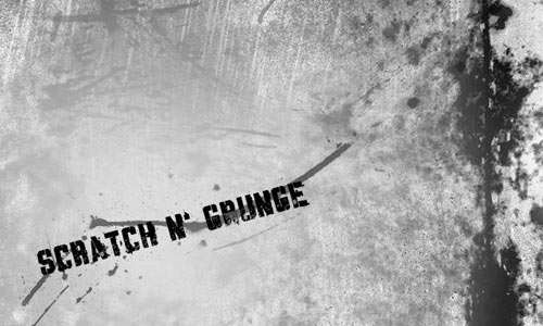 Scratch n' Grunge Brushes