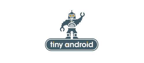 Tiny Android logo