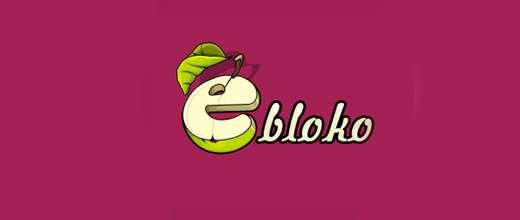 Typography apple logo