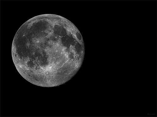 Black background fullcool moon wallpaper