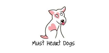 must heart dogs logo