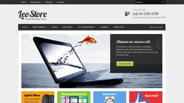Joomla Shop Templates. flipshop ecommerce joomla theme free ...