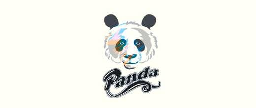 Head panda logo
