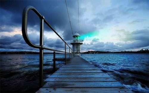 Lighthouse in Sydney wallpaper