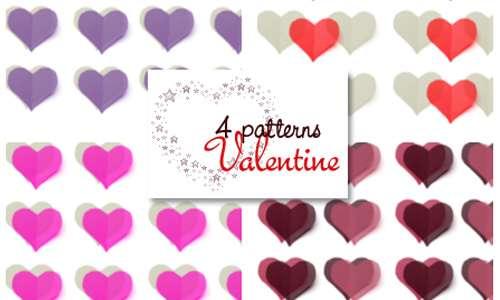 4 Valentine Patterns