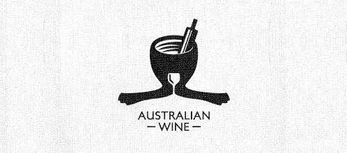 Australian wine logo