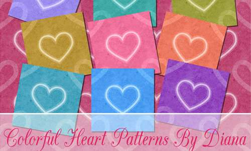 12 Heart Patterns