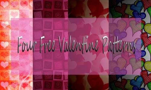 Four Free Valentine Patterns