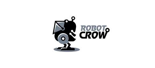 Robot Crow logo