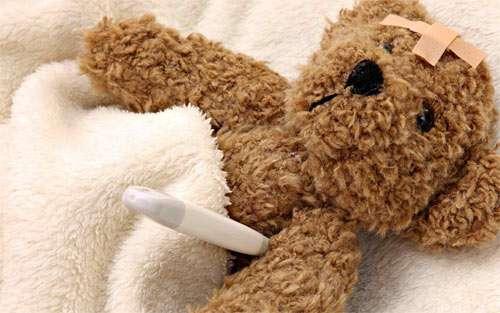 Poor Teddy wallpaper