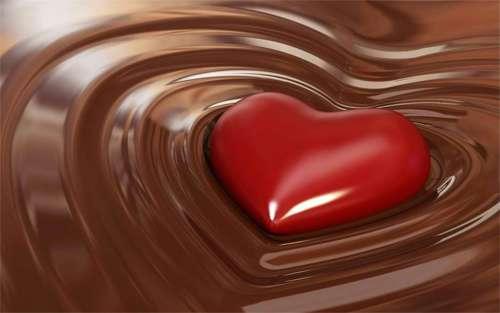 Valentine Chocolate Wallpaper