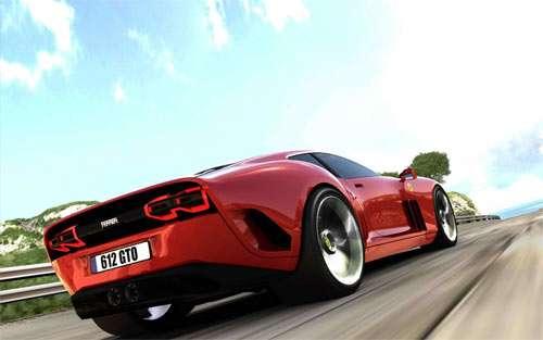Red Ferrari wallpaper