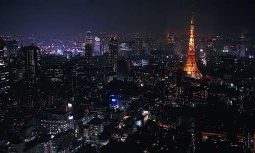 Tokyo free high resolution skyscraper wallpaper